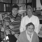 Con Bebè Falconieri ed il dott. Pietro Gargano