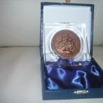 Medaglia di Bronzo per il IV Centenario della Fondazione del Santuario della Madonna dell'Arco NA