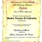 """Premio """"Madre Teresa di Calcutta"""""""