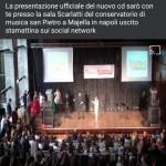 """Presentazione """"Sarò con te"""" - Conservatorio S.Pietro A Majella Napoli"""